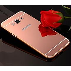 Na Samsung Galaxy Etui Galwanizowane / Lustro Kılıf Etui na tył Kılıf Jeden kolor Akrylowy Samsung A8 / A7 / A5 / A3