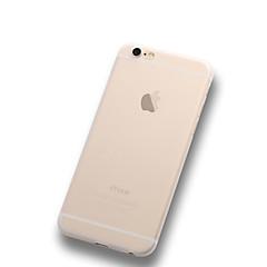 Недорогие Кейсы для iPhone 6-Кейс для Назначение Apple iPhone X iPhone 8 Plus iPhone 6 iPhone 6 Plus Ультратонкий Матовое Полупрозрачный Кейс на заднюю панель