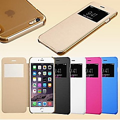 Smart View Screen Touch PU Leather Case for iPhone5/5S iPhone Cases