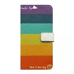 Назначение iPhone X iPhone 8 Кейс для iPhone 5 Чехлы панели Кошелек Бумажник для карт со стендом Флип С узором Чехол Кейс для Полосы /