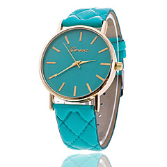 preiswerte Damenuhren-Xu™ Damen Armbanduhr Quartz Armbanduhren für den Alltag PU Band Analog Charme Modisch Schwarz / Weiß / Braun - Grün Rosa Khaki