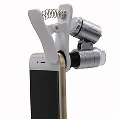 abordables Lupas-Monocular Microscopio Lupas Genérico 60x El plastico