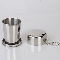 Camping Cup Single Portable Stainless Steel for