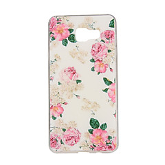 voordelige Galaxy A7 hoesjes / covers-hoesje Voor Samsung Galaxy Samsung Galaxy hoesje Patroon Achterkant Bloem TPU voor A7(2016) A5(2016) A3(2016) A7 A5 A3