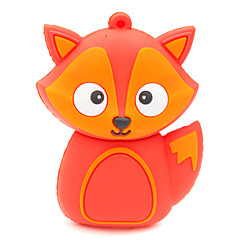 zpk37 16GB red fox cartoon USB 2.0 Flash Drive pamięci u trzymać