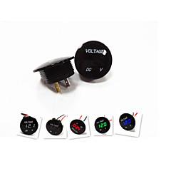 preiswerte Autozubehör-Lossmann Motorrad Auto-LED-Digitalvoltmeter wasserdicht Design, Mode, schwarz