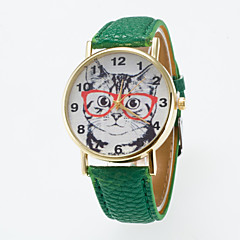 Hot Sale Leisure Cute Wristwatch Special dial Printing  Unisex Wristewatch Cool Watches Unique Watches Fashion Watch Strap Watch