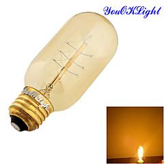 お買い得  LED 電球-YouOKLight 1個 400 lm E26/E27 LEDボール型電球 B 1 LEDの COB 装飾用 温白色 AC 110〜130V AC 220-240V
