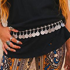 Damskie Biżuteria Łańcuszek na brzuch Łańcuch nadwozia / Belly Chain Unikalny biżuteria kostiumowa Modny minimalistyczny styl Europejski