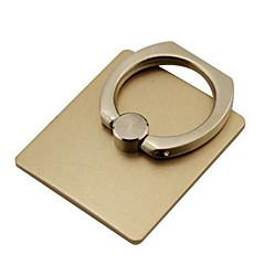 olcso -Az új fém illanyszerelési gyűrű 360 fokban forgatható sík mobiltelefon ring csat tartó
