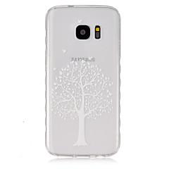 Χαμηλού Κόστους Galaxy S4 Mini Θήκες / Καλύμματα-tok Για Samsung Galaxy Samsung Galaxy Θήκη Διαφανής Πίσω Κάλυμμα Δέντρο TPU για S7 S6 edge S6 S5 Mini S5 S4 Mini S4 S3 Mini S3 S2