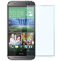 お買い得  HTC 用スクリーンプロテクター-スクリーンプロテクター HTC のために HTC One M8 強化ガラス 1枚 ハイディフィニション(HD)