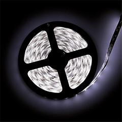 billige LED Rørlys-z®zdm vandtæt 5 m førte 300 * 3014 SMD DC12V varm hvid / naturlig hvid 30w IP65