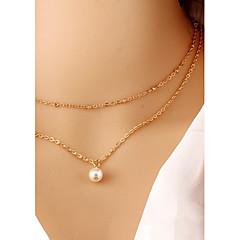 preiswerte Halsketten-Damen Halsketten / Gothic Schmuck / Tattoo-Hals - Tattoo Stil, Modisch Schwarz Modische Halsketten Schmuck Für Party, Alltag, Normal