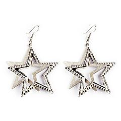 preiswerte Ohrringe-Ohrring - Stern Party, Freizeit, Europäisch Silber / Golden Für