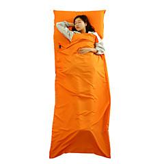 abordables Camas de Camping-Saco de dormir Liner Al aire libre 20-25°C Saco Rectangular Mantiene abrigado Impermeable A prueba de polvo para Viaje Primavera Otoño
