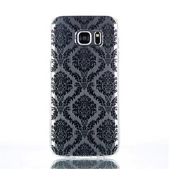 Mert Samsung Galaxy S7 Edge Átlátszó / Minta Case Hátlap Case Csempe TPU Samsung S7 edge / S7 / S6 edge plus / S6 edge / S6 / S4 Mini / S4