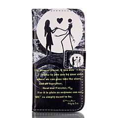 Недорогие Кейсы для iPhone 5-Кейс для Назначение Apple iPhone 8 iPhone 8 Plus Кейс для iPhone 5 Бумажник для карт Кошелек со стендом Флип С узором Чехол Слова /