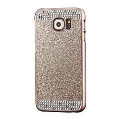 Για Samsung Galaxy S7 Edge Στρας tok Πίσω Κάλυμμα tok Λάμψη γκλίτερ PC Samsung S7 edge / S7 / S6 edge / S6 / S5 / S4 / S3