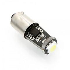 noi 2pcs BA9S poate-bus 0.5W LED alb, a condus lumina marcaj lateral, BA9S a condus lectură lumina, lumina de înmatriculare
