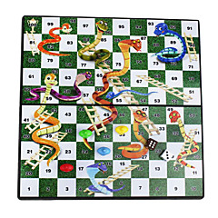 Bildungs tragbare Falten magnetischen Schlangen& Leitern reisen Tischplatte Schreibtisch Brettspiel
