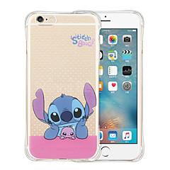 Назначение iPhone X iPhone 8 iPhone 6 iPhone 6 Plus Чехлы панели Защита от удара Прозрачный Задняя крышка Кейс для Мультипликация Мягкий