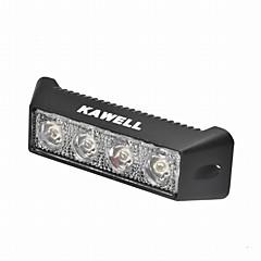 abordables Iluminación para Vehículos Industriales-KAWELL Coche Bombillas 12W 800lm 4 LED Luz de Trabajo