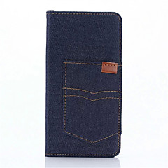 Для Кейс для Sony / Xperia X / Xperia XA Кошелек / Бумажник для карт / со стендом / Флип Кейс для Чехол Кейс для Один цвет Твердый