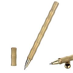 Fura kültéri bambusz alakú csiszolt felület taktikai réz fekete tollal - arany