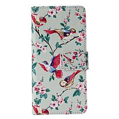 Недорогие Кейсы для iPhone X-Кейс для Назначение iPhone X iPhone 8 iPhone 6 iPhone 6 Plus Кошелек Бумажник для карт со стендом Флип С узором Чехол Мультипликация