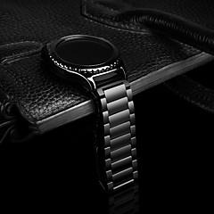 abordables Promoción PayPal-Ver Banda para Gear S2 Classic Samsung Galaxy Hebilla Clásica Acero Inoxidable Correa de Muñeca