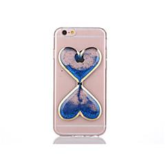 お買い得  iPhone 5S/SE ケース-ケース 用途 Apple iPhone 7 / iPhone 7 Plus / iPhone 6 Plus リキッド / クリア バックカバー 3Dカトゥーン ソフト TPU のために iPhone 7 Plus / iPhone 7 / iPhone 6s Plus