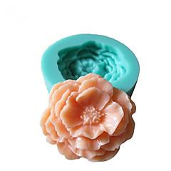 voordelige -bakvorm Bloem Taart Koekje Cake Siliconen Milieuvriendelijk Hoge kwaliteit 3D