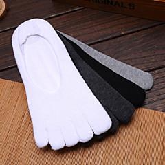남성용 발가락 양말 하이킹 양말 양말 공전방지 땀 흡수 기능성 소재 용 요가