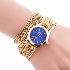preiswerte Damenuhren-Damen Modeuhr / Armband-Uhr Edelstahl Band Elegant Gold / Ein Jahr / Jinli 377
