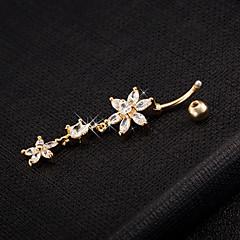 Dames Lichaamssieraden Navelringen Kostuum juwelen Roestvast staal Sieraden Voor Causaal