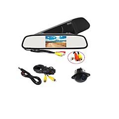abordables Electrónica de Coche-4.3 pulgada LCD CMOS color de 1/3 pulgada 170 Grados Kit de vista trasera del coche para Coche