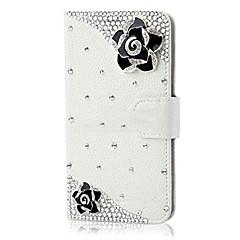 Для Samsung Galaxy Note Бумажник для карт / Кошелек / Стразы / со стендом / Флип Кейс для Задняя крышка Кейс для 3D в мультяшном стиле