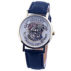 お買い得  レディース腕時計-女性用 クォーツ リストウォッチ PU バンド チャーム / ファッション ブラック / 白 / ブルー / ベージュ