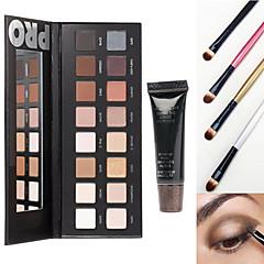 voordelige ogen-16OogschaduwSpiegel / Make-up borstels Droog / Mat / Glinstering / Mineraal OgenGlanzende Glitter Lipgloss / Gekleurde Lipgloss /