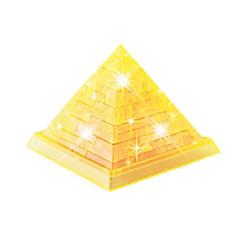 DHZ-kit 3D-puzzels Legpuzzel Kristallen puzzels Speeltjes Toren Beroemd gebouw 3D DHZ Stuks