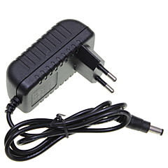eu evropa zásuvka 12V 1a vedl pruh světla / CCTV bezpečnostní kamery monitoru napájecí adaptér ac100-240v