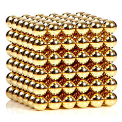 216pcs 3mm altın ve gümüş diy manyetik bilyalar küre boncuk sihirli mıknatıs bulmaca icra bina blok 2 renk