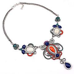 preiswerte Halsketten-Damen Perle Anhängerketten / Statement Ketten - Erklärung, Europäisch, Modisch Regenbogen Modische Halsketten Schmuck Für Party