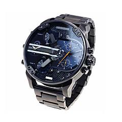 preiswerte Tolle Angebote auf Uhren-Herrn Modeuhr / Militäruhr Kalender Edelstahl Band Luxus Gold / Zwei jahr / Sony 377