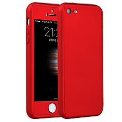 Недорогие Кейсы для iPhone 5-Кейс для Назначение iPhone 5 Apple iPhone 8 iPhone 8 Plus Кейс для iPhone 5 Защита от удара Кейс на заднюю панель броня Твердый ПК для