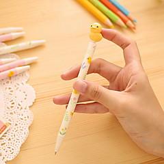 preiswerte Zubehör zum Zeichnen und Schreiben-Kugelschreiber Stift Kugelschreiber Stift, Kunststoff Blau Tintenfarben For Schulzubehör Bürobedarf Packung