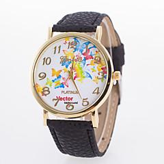 お買い得  レディース腕時計-女性用 リストウォッチ クォーツ ブラック / 白 / ブルー ホット販売 ハンズ レディース 蝶型 ファッション - ブルー ピンク ライトブルー 1年間 電池寿命 / Tianqiu 377