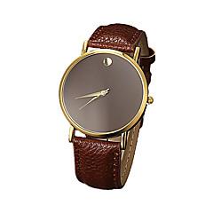 preiswerte Damenuhren-Damen Quartz Armbanduhr Imitation Diamant PU Band Minimalistisch Modisch Schwarz Weiß Braun