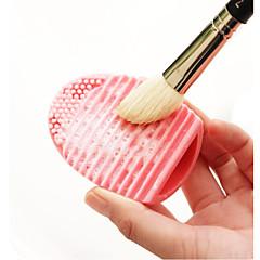 voordelige Make-up kwasten-1 Andere kwasten Silicone Professioneel Milieuvriendelijk Beperkt bacterieën synthetisch Hypoallergeen Reizen Draagbaar HarsLip Gezicht